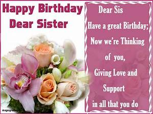 Beautiful Quotes About Happy Birthday Sister Happy ...