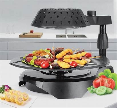 Grill Smokeless Bbq Electric Cook Infrared 3d
