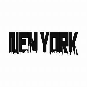 New York Schriftzug : photoshop tutorial new york skyline typografie ~ Frokenaadalensverden.com Haus und Dekorationen