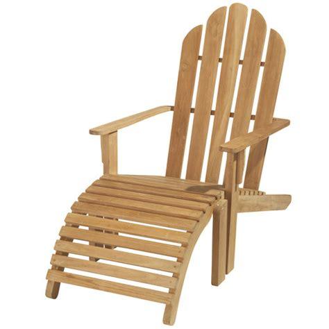 chaise longue de jardin bois teck providence maisons du monde