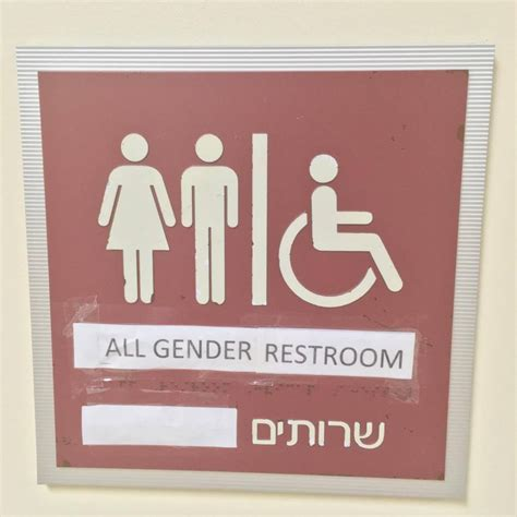 Gender Neutral Bathrooms Debate by Amid National Debate Gender Neutral Bathroom Installed