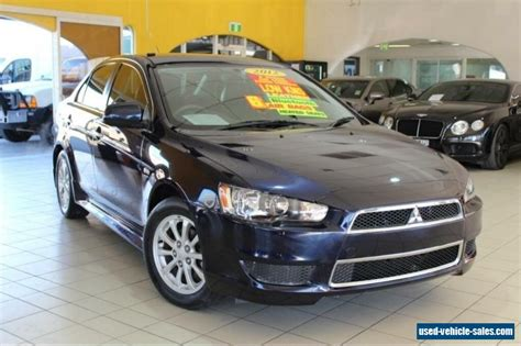 2012 Mitsubishi Lancer For Sale by Mitsubishi Lancer For Sale In Australia