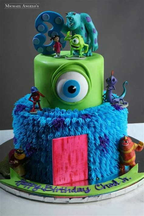monsters inc cake monsters inc creatative cakes