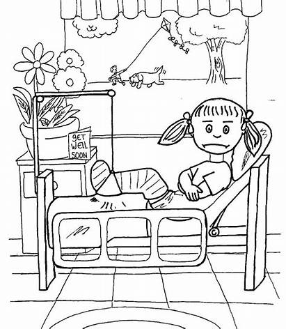Hospital Coloring Pages Printable Printables Nellie Getcolorings
