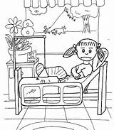 Hospital Coloring Pages Printable Printables Children Nellie Getcolorings Print Pa sketch template