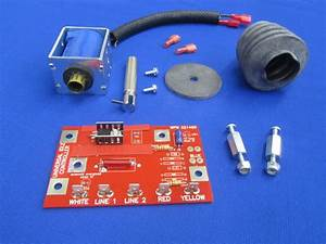 Oem Lincoln Welder Idler Solenoid  U0026 Boot Kit Sa 200 250