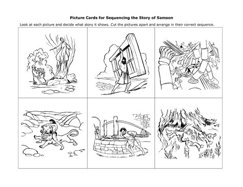 15 best images of sequence of events kindergarten
