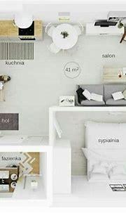 Studio apartment, tiny, #minimalist_space #abdudyroo ...
