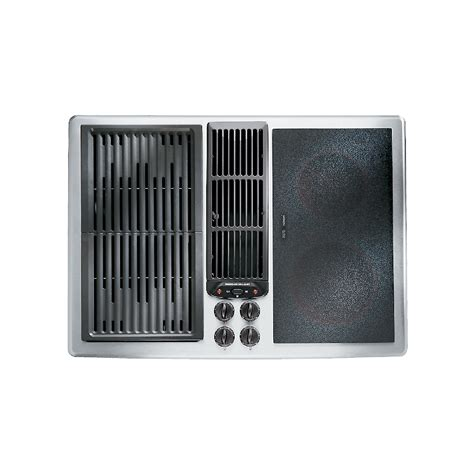 jenn air downdraft cooktop jenn air jed8230ads 30 quot electric downdraft cooktop
