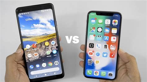 iphone x vs pixel 2 xl we re all wrong