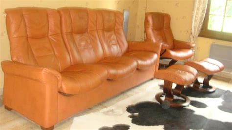 salon canape fauteuil stressless cuir rodeo pleine