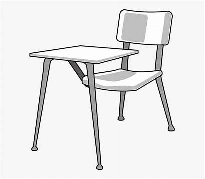 Desk Student Easy Drawing Vector Cartoon Graphic