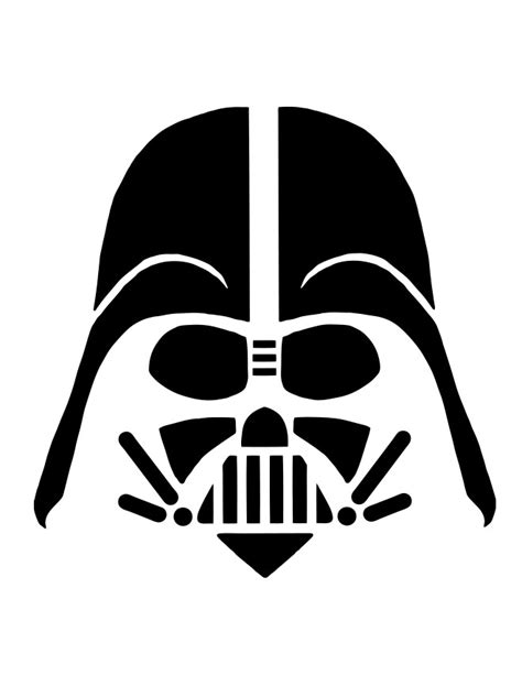 Darth Vader Pumpkin Template by Darth Vader Carve A Most Impressive Pumpkin With