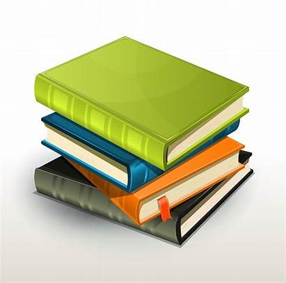 Stack Books Albums Vector Pile Clipart Tablet