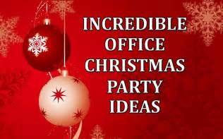 incredible office christmas party ideascorporate comedian blog