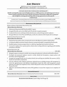 human resource management resume resume ideas With human resources manager resume sample