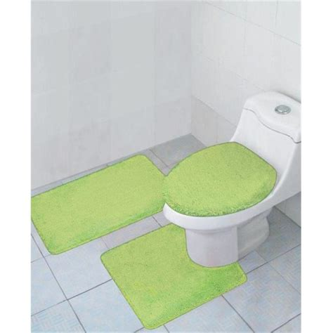 3 piece bathroom rug sets walmart com