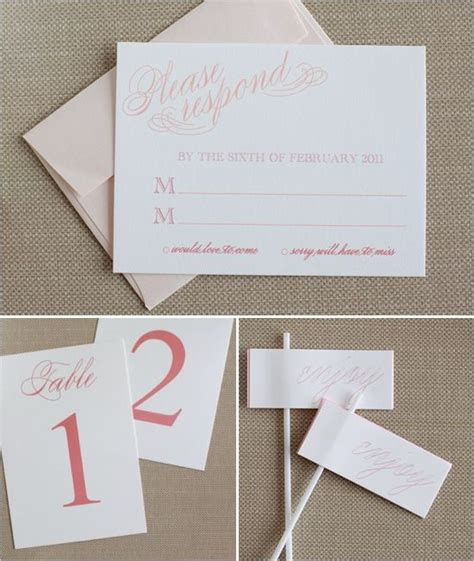 do it yourself wedding invitation cards do it yourself printable sweet wedding invitations response cards free printables and sweet