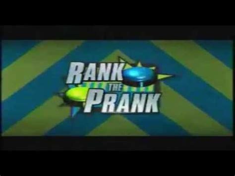 Rank The Prank  Nueva Series En Nick Youtube