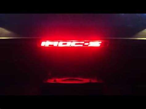 87 iroc z custom third brake light