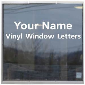 store name custom made window lettering decal vl0501 With custom store window lettering