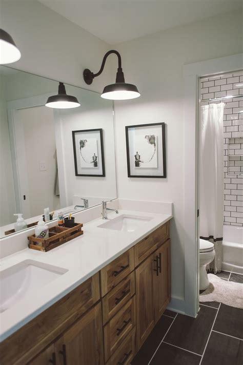 Neoteric Rustic Bathroom Lighting Ideas Home Design