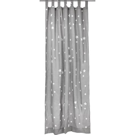 Gardine Grau Weiß by Vorhang Sterne Inkl B 252 Gelband Grau Wei 223 140 X 245 Cm 2