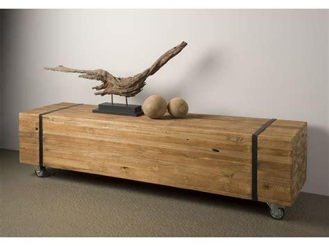 teak tv meubel heemskerk op wielen meubelcity