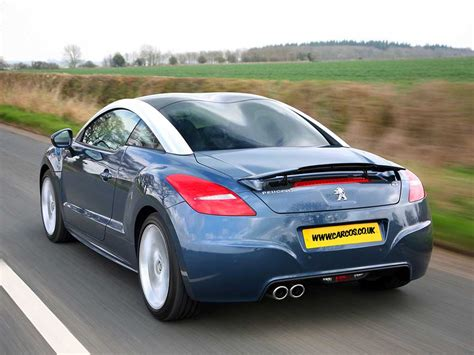 peugeot company car peugeot rcz uk car review