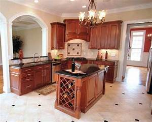 innovative small kitchen island designs ideas plans cool With small kitchen design with island