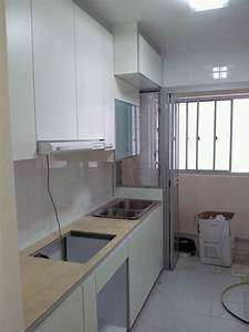 country kitchen design for 4 room hdb bto flat in With hdb 4 room kitchen design
