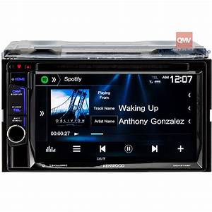 Kenwood Ddx374bt Double Din 6 2 U0026quot  In Cd  Am  Fm Receiver With Bluetooth