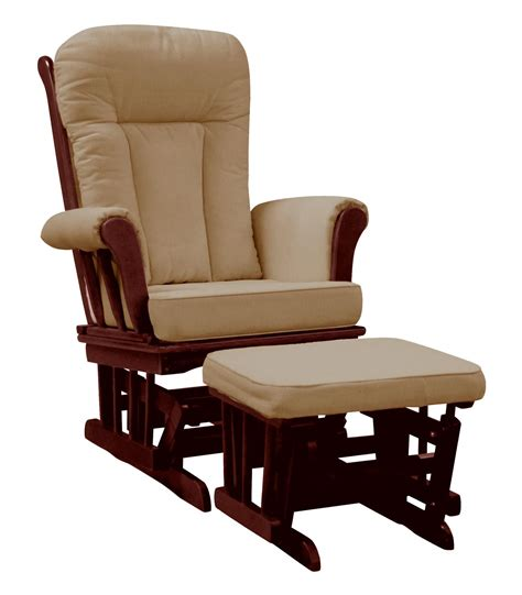 glider chair and ottoman dream on me elysium glider rocker and matching ottoman