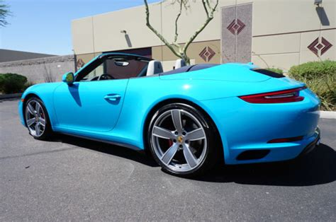 blue porsche convertible 17 porsche 911 awd convertible miami blue 4 s like 2011