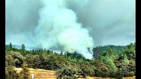 sliger fire evacuations issued  auburn lake trails