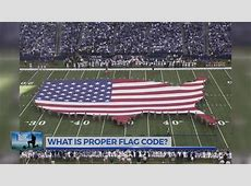 What is proper Flag code Doovi
