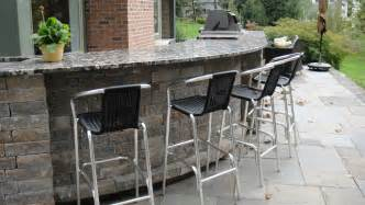 stone top patio bar landscaping gardening ideas