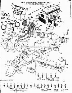 Craftsman 91725743 Parts List And Diagram
