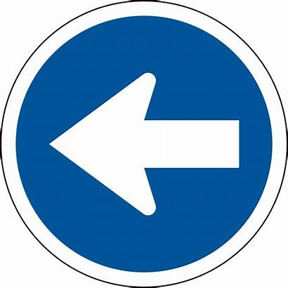 Left Signs Road Proceed Svg R105 Africa