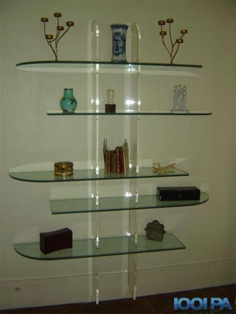 etagere en verre pour cuisine bibliothèque étagère en verre collection annonce ameublement 75