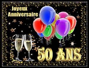 Image Champagne Anniversaire : 50 ans joyeux anniversaire ballons coupes champagne ~ Medecine-chirurgie-esthetiques.com Avis de Voitures
