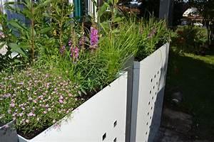 Sichtschutz 100 Cm Hoch : pflanzkasten modular mit dekorstanzung h x b 100 x 60 cm ~ Bigdaddyawards.com Haus und Dekorationen