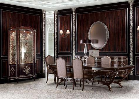 sala da pranzo classica sala da pranzo classica di lusso zona giorno idfdesign