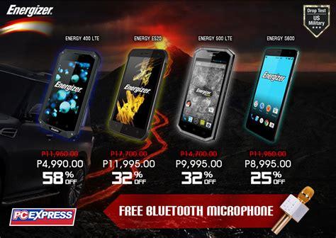 rugged energizer smartphones    philippines