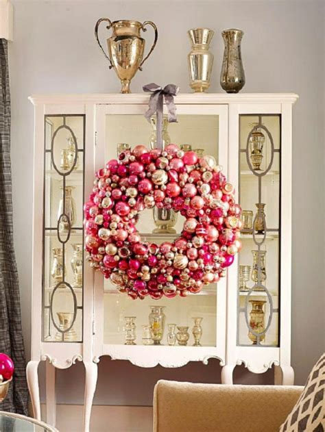 top red  gold christmas decor ideas christmas