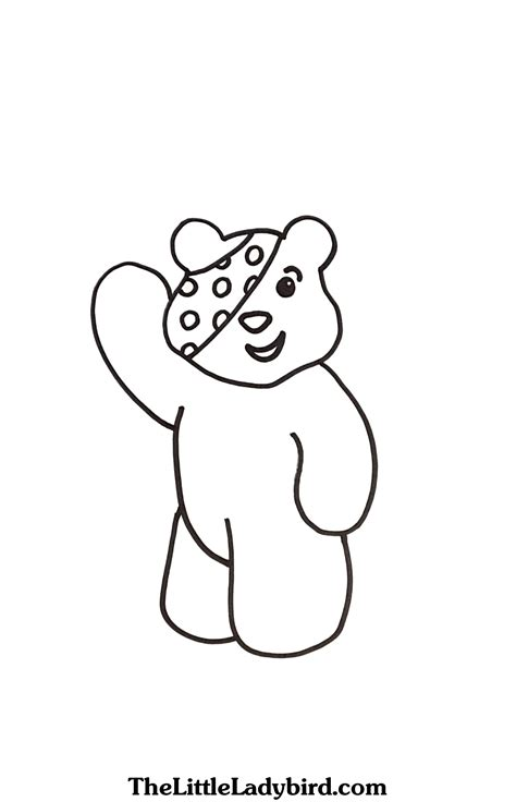 Innovation Idea Pudsey Bear Printables Coloring