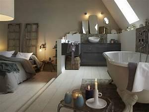tout savoir sur la salle de bains ouverte sur la chambre With salle de bain ouverte sur chambre