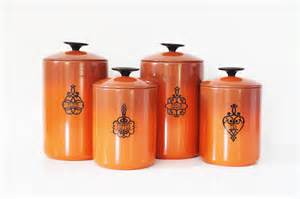 yellow kitchen canisters burnt orange west bend kitchen canisters