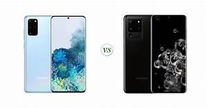 Samsung Galaxy S20  Vs Samsung Galaxy S20 Ultra  Side By