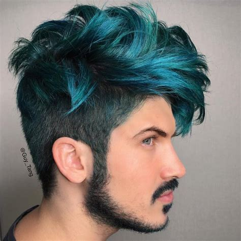 Smoked Out Green By Guy Tang For Joey Graceffa Hair